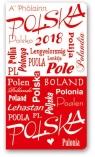 Kalendarz 2018 A6 11T kieszonkowy Polska