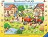 Puzzle ramkowe 24: Moja mała farma (6582) Wiek: 4+