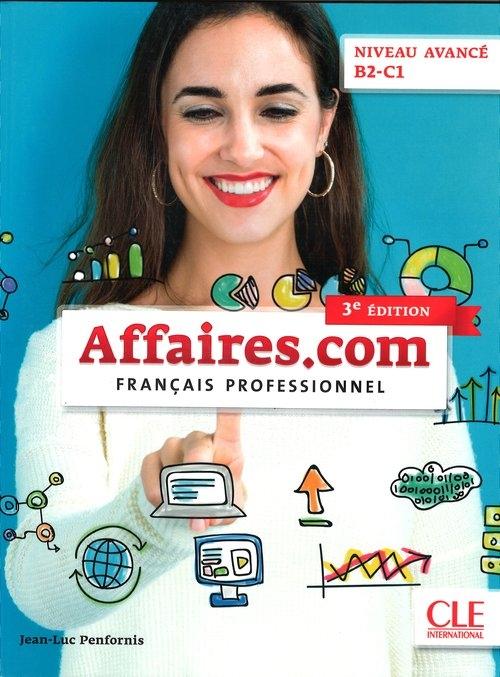 Affaires.com 3 Podręcznik + DVD Penfornis Jean-Luc