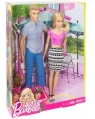 Barbie: Zestaw - Barbie + Ken (DLH76)