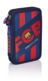 Piórnik podwójny z wyposażeniem FC Barcelona Barca Fan 5