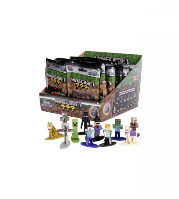 Figurki Minecraft Display z Nano figurkami (253261000)