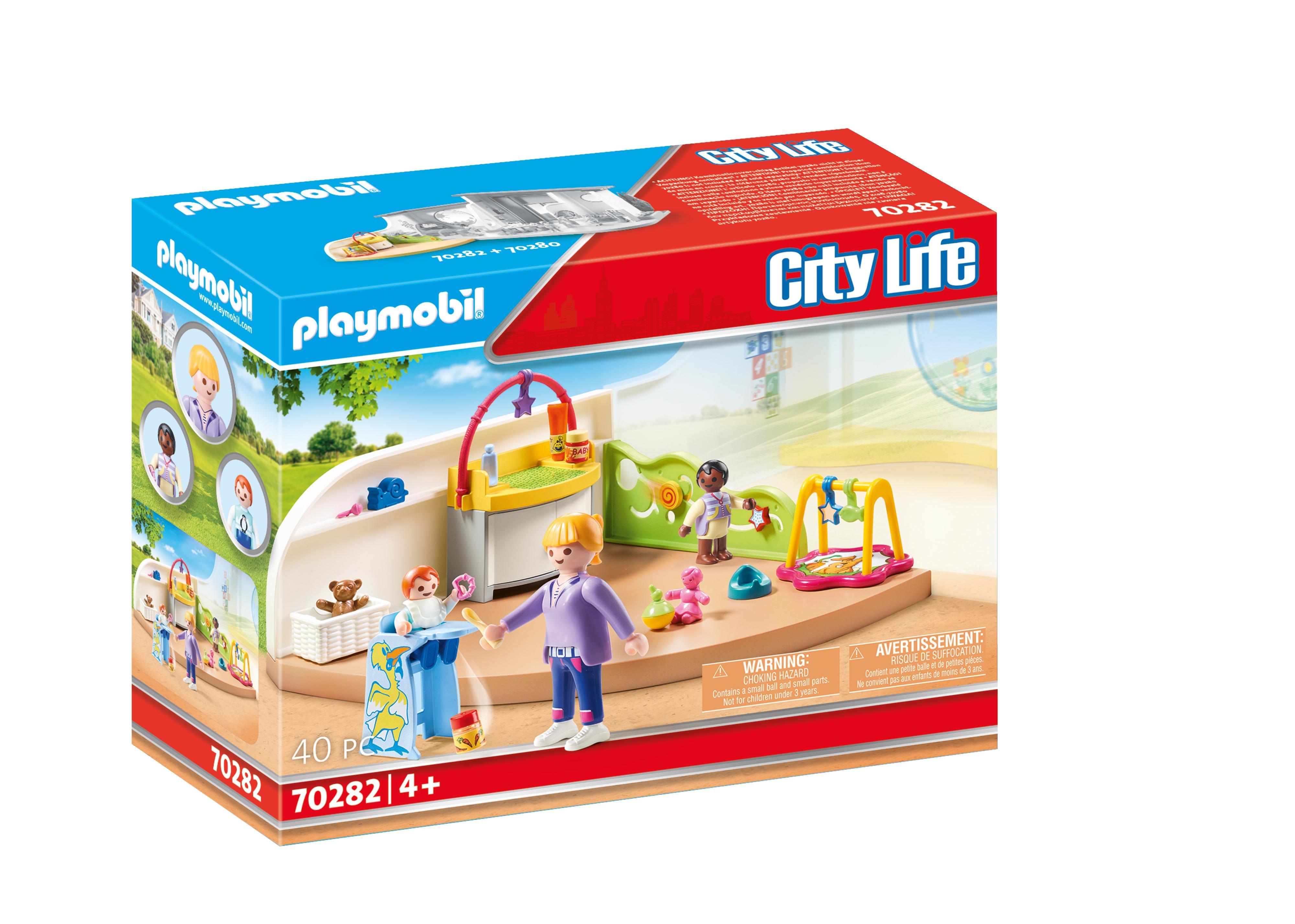 Playmobil City Life: Żłobek (70282)