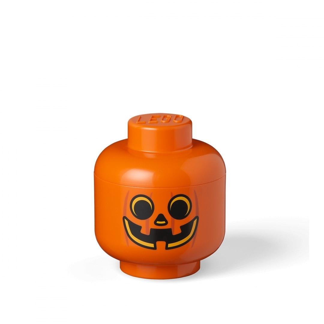 Pojemnik mała głowa LEGO® - Dynia (40311729)