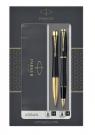 Zestaw Parker: Urban Duo Czarny GT, pióro kulkowe i długopis (P-2093382)
