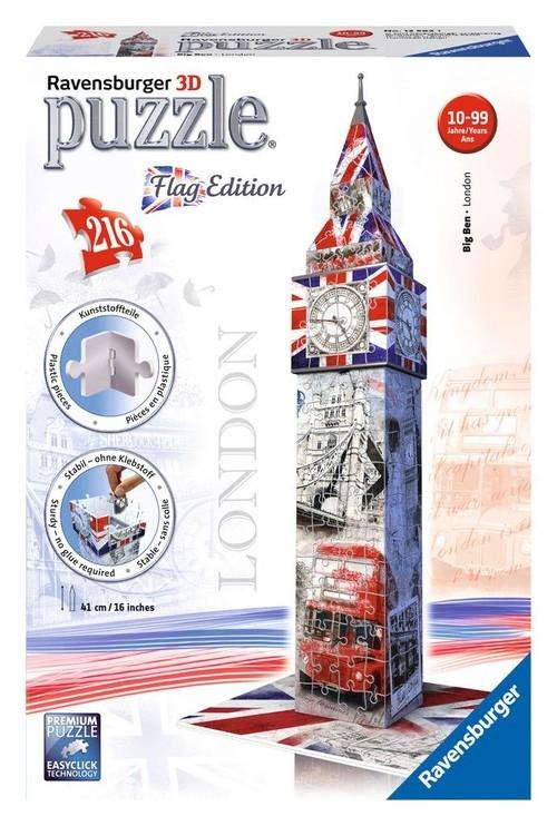 Puzzle 3D Flag Edition Big Ben 216 (125821)