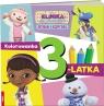 Klinika dla pluszaków Kolorowanka 3-latka/KMN8