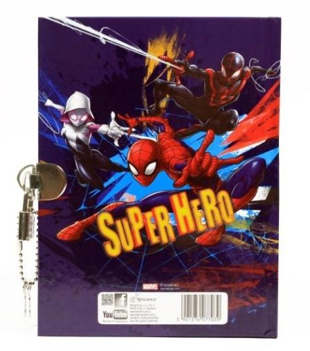 Pamiętnik z kłódką Spider-Man (607703)