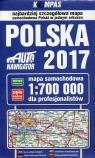 Polska 2017 Mapa samochodowa dla profesjonalistów 1:700 000