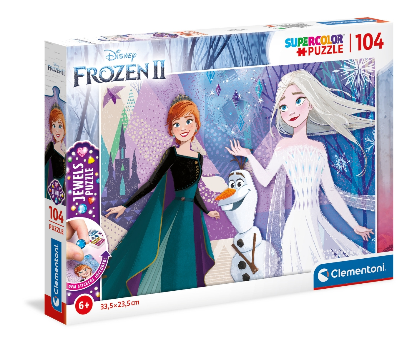 Puzzle Jewels SuperColor 104: Frozen 2 (20182)