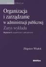 Organizacja i zarządzanie w administracji publicznej