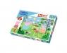 Puzzle Maxi 15: Peppa w ogrodzie