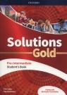 Solutions Gold Pre-Intermediate Podręcznik