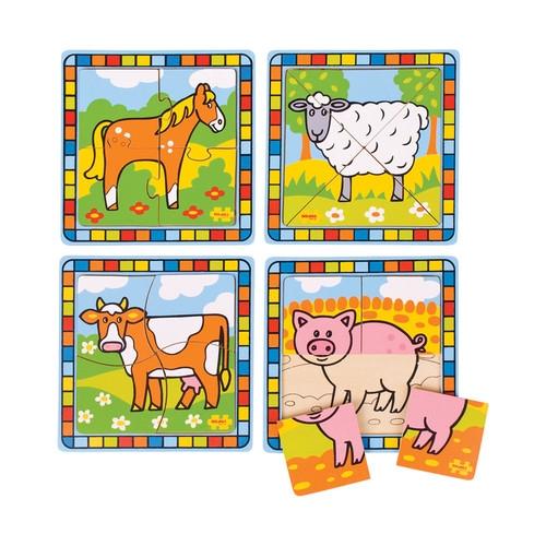 Moje pierwsze puzzle Zwierzęta hodowlane