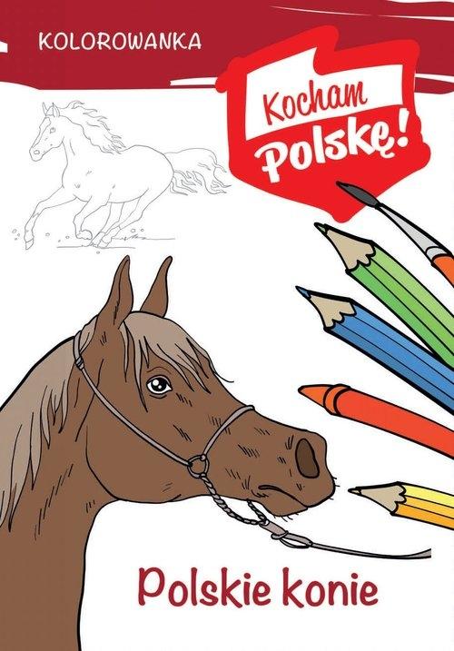 Kolorowanka Polskie konie Kiełbasiński Krzysztof