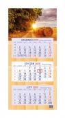 Kalendarz 2020 trójdzielny Łany zbóż