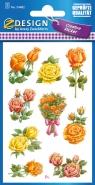 Naklejki z kwiatami - Róże (54482)