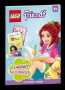 Lego Friends Zabawy w podróży + naklejki