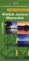 Wielkie Jeziora Mazurskie Mapa turystyczna 1:110 000