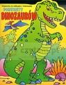 Portrety dinozaurów. Książeczka do naklejania i kolorowania
