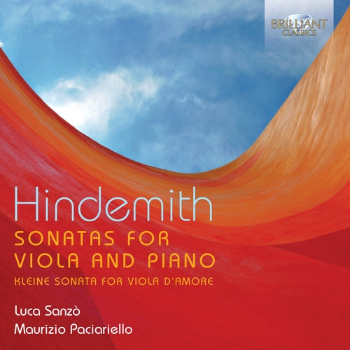 Hindemith: Sonatas For Viola & Piano