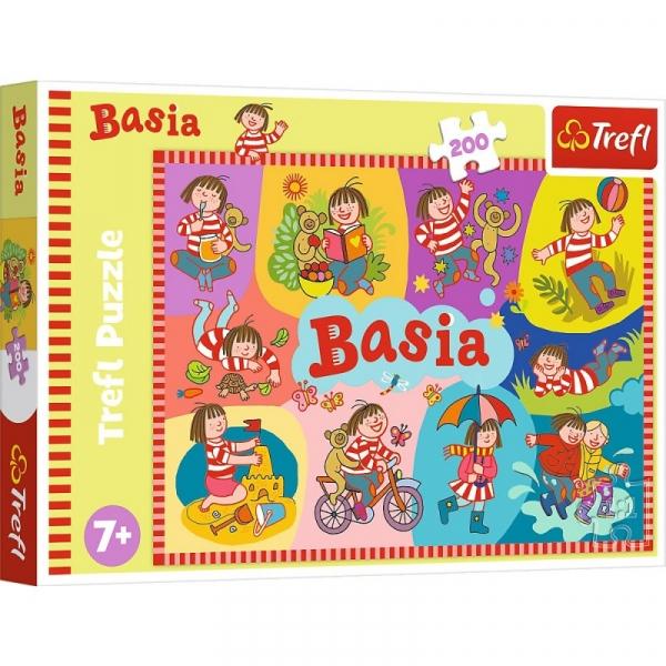 Puzzle 200 elementów Basia (13282)