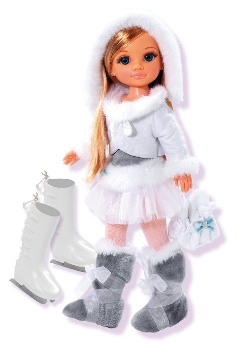 Nancy zimowa na łyżwach 43cm (700004996/18823)