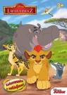 Lwia straż Kolorowanka z naklejkami