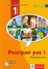 Pourquoi pas 1 Podręcznik + CD + DVD Gimnazjum, A1 Bosquet Michele, Salles Matilde Martinez, Rennes Yolanda