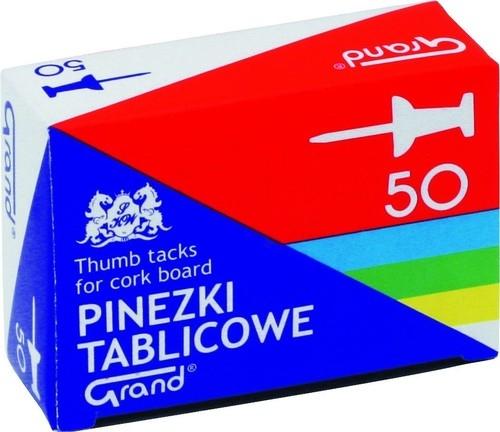 Pinezki Grand tablicowe 50 sztuk