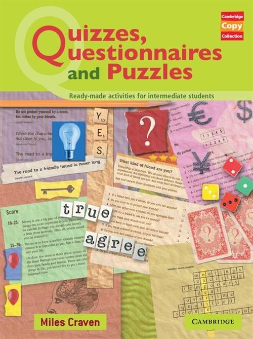 Quizzes, Questionnaires and Puzzles Craven Miles