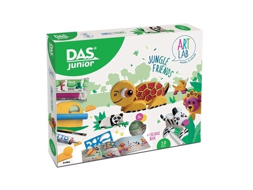 Das Junior Art Lab Jungle Friends