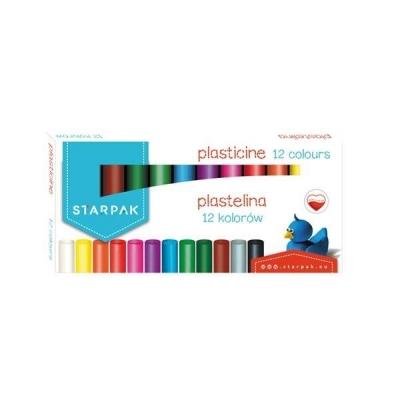 Plastelina 12 kolorów STK