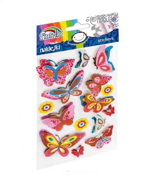 Naklejki dekoracyjne 3D GR-NP018 FIORELLO