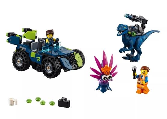 Lego Movie: Terenówka Rexa (70826)