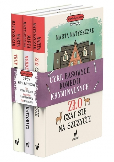 Pakiet: Kryminał pod psem T.4-6 Marta Matyszczak