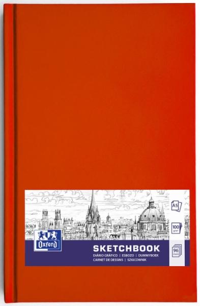 Szkicownik Oxford A5/96k, szyty (400152621)