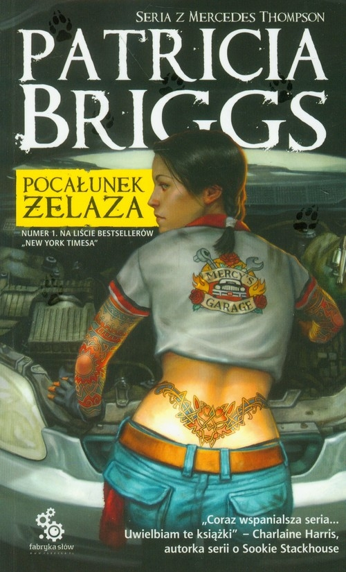 Pocałunek żelaza Briggs Patricia