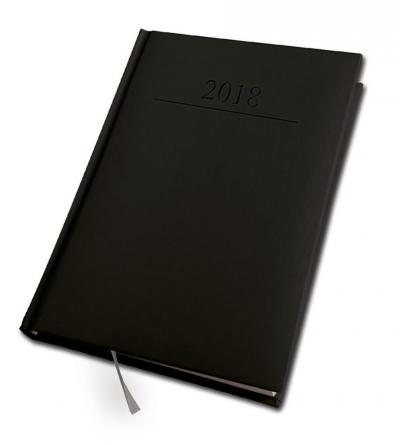 Kalendarz 2018 A5/320 Agenda Czarny DAN-MARK