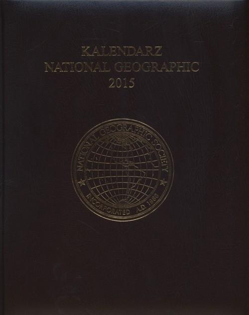 Kalendarz 2015 National Geographic brąz
