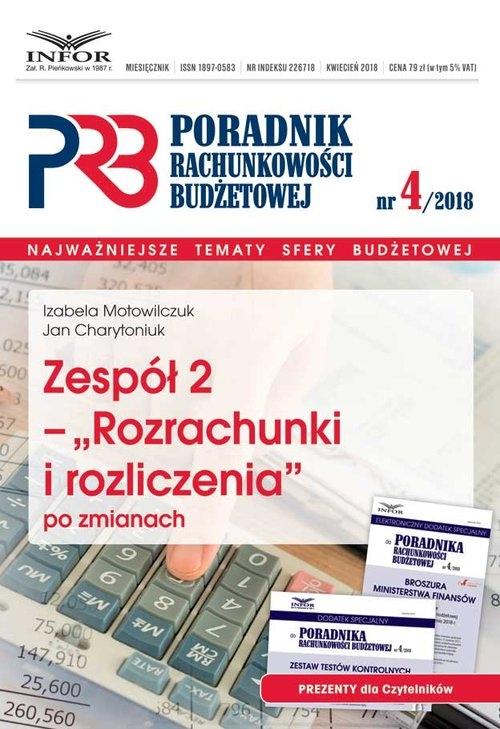 Zespół 2 - Rozrachunki i rozliczenia po zmianach Motowilczuk Izabela, Charytoniuk Jan