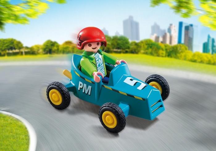 Playmobil Special Plus: Chłopiec z gokartem (5382)