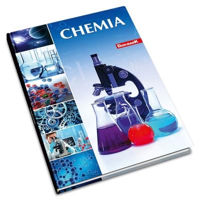 Brulion tematyczny Dan-Mark chemia A5 krata 80 DANMARK