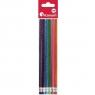 Ołówek Titanum brokatowy HB, 6 szt.