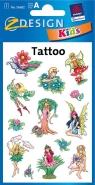Tatuaże Błyszczące wróżki