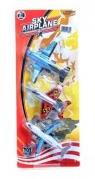 Samoloty plastikowe 12cm