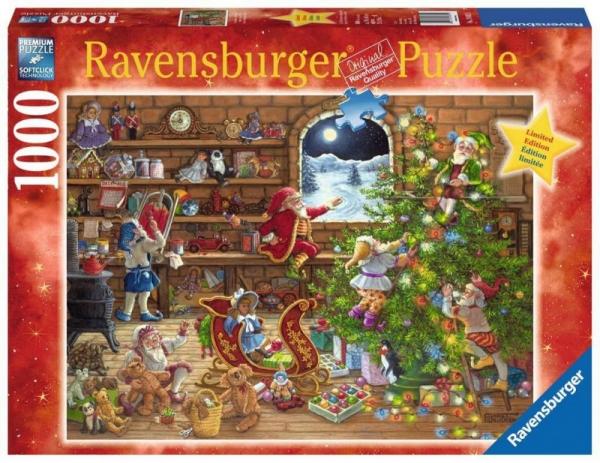 Puzzle 1000 elementów Przygotowania do Bożego Narodzenia (198825)