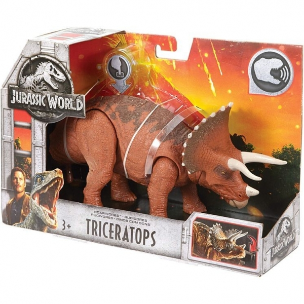JURASSIC WORLD ROARIVORES Triceratops (FMM23/FMM24)