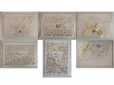 Karnet ślubny Lux B6 + koperta