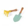 Mały ogrodnik - Zestaw narzędzi ogrodowych - łopatka i grabki (J03182)